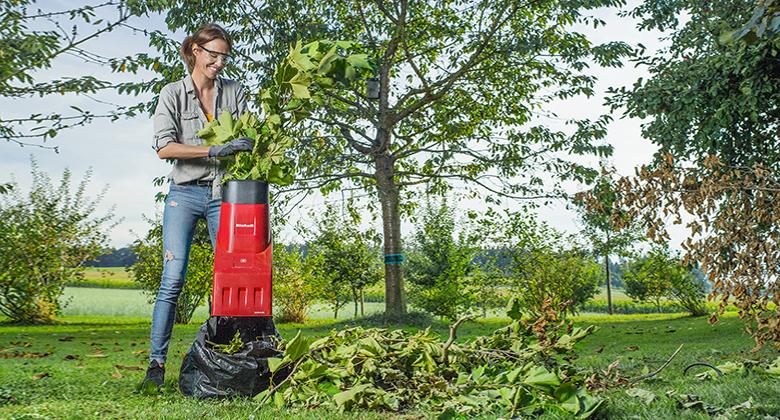 l'entretien de votre jardin avec un broyeur