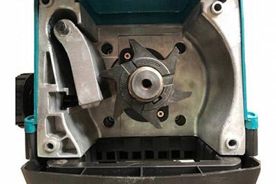 Le système de lame à rotor du Makita